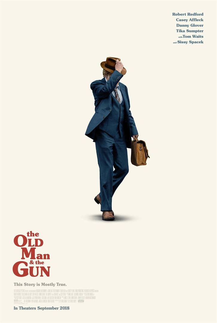 affiche du film The Old Man and the Gun