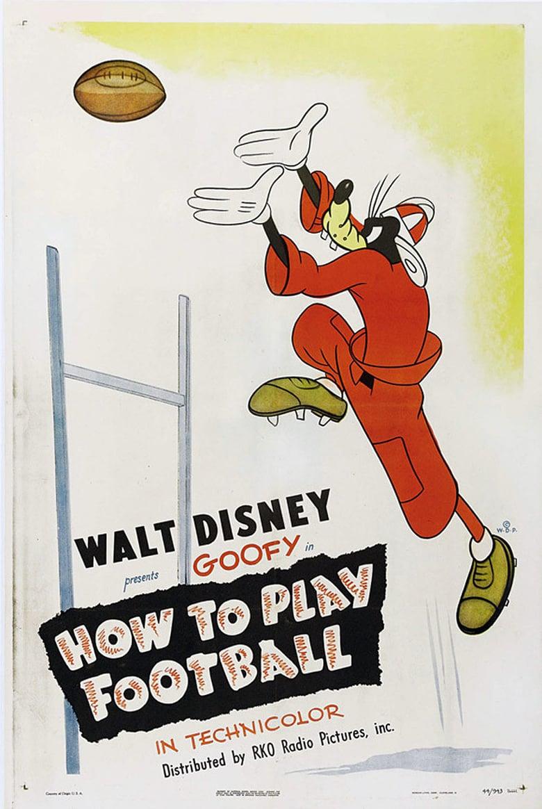 affiche du film Dingo Joue au Football