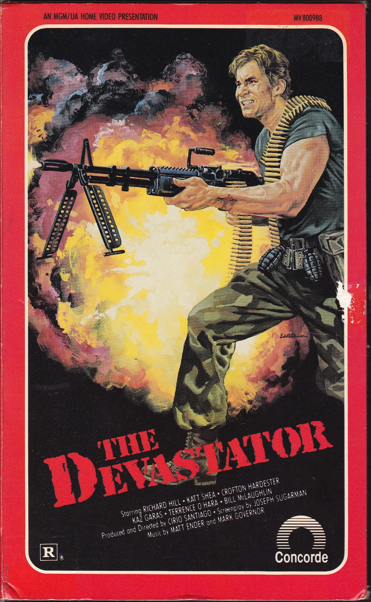 affiche du film The Destroyers