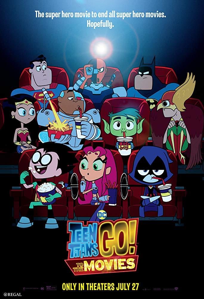 affiche du film Teen Titans Go! Le film