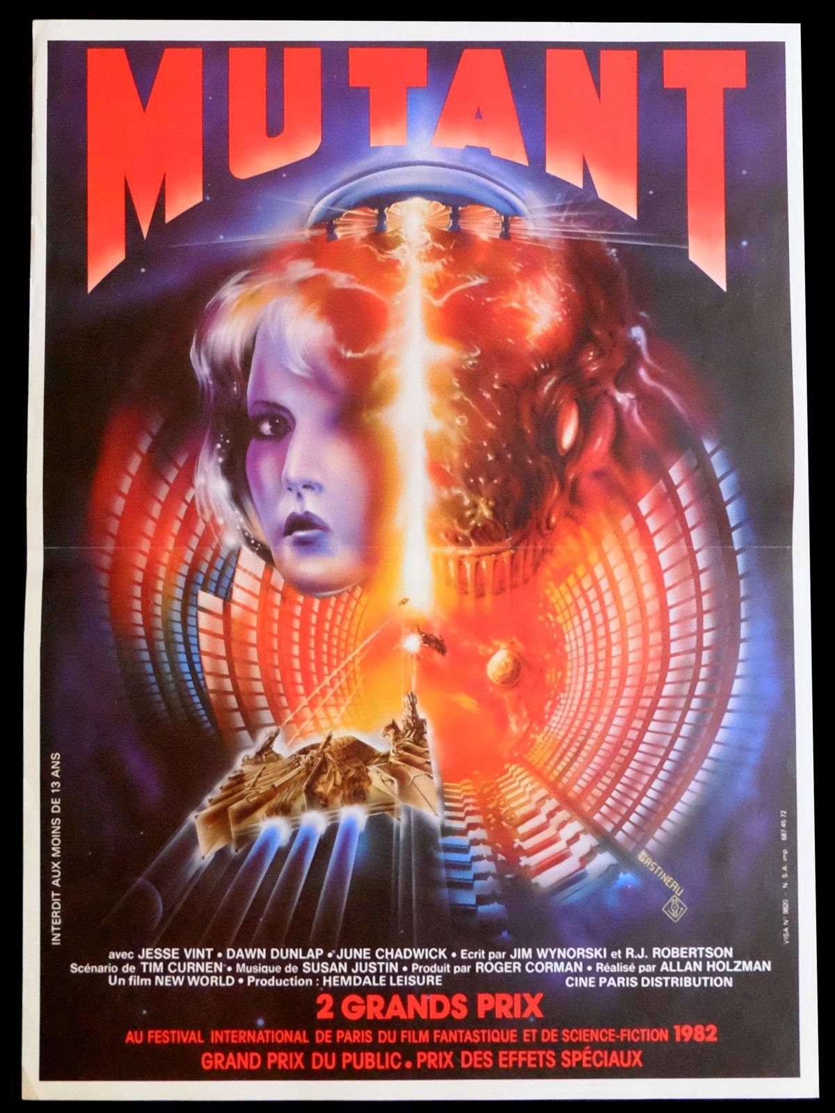 affiche du film Mutant