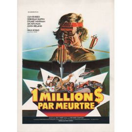 affiche du film Un million de dollars par meurtre