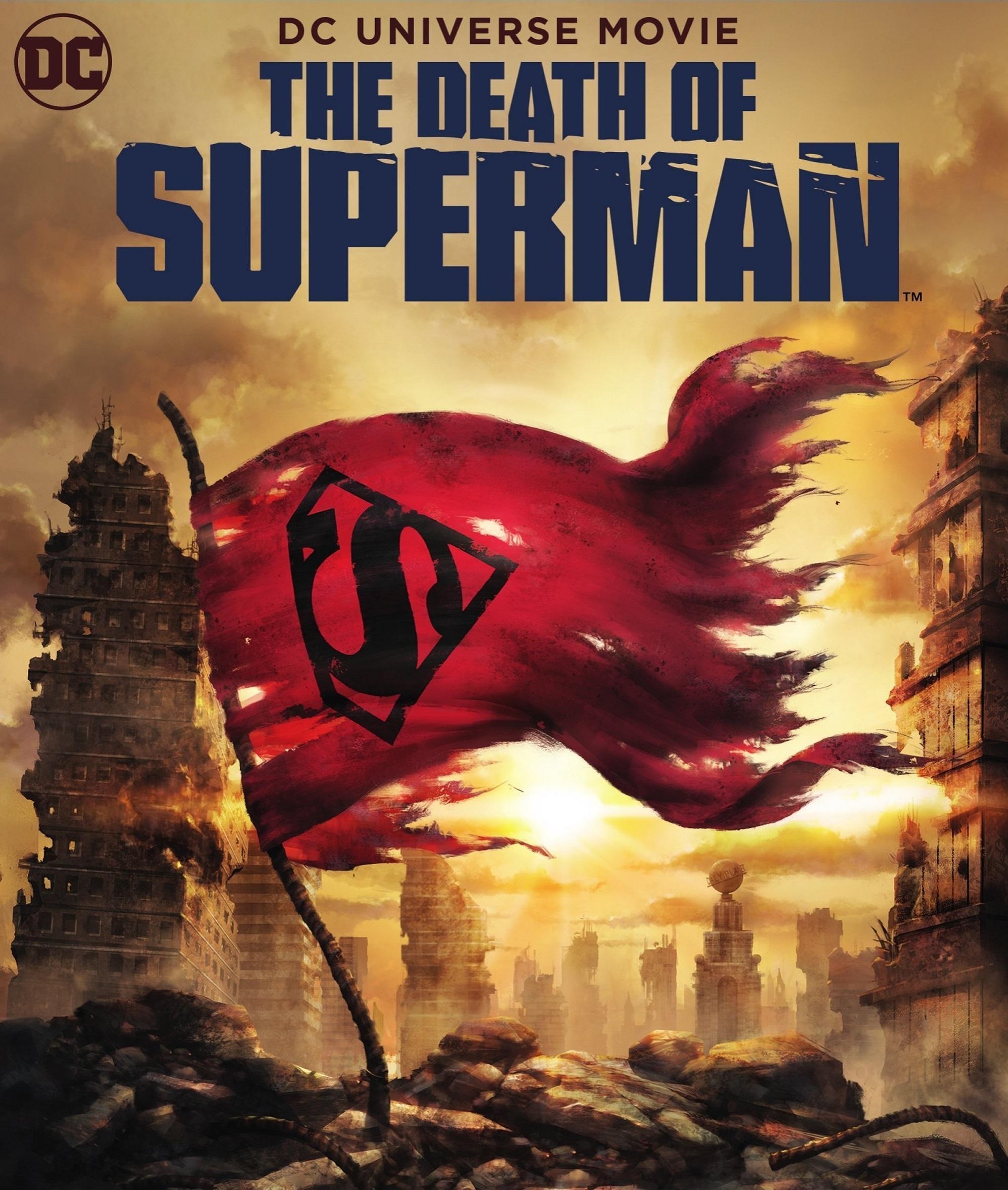affiche du film The Death of Superman