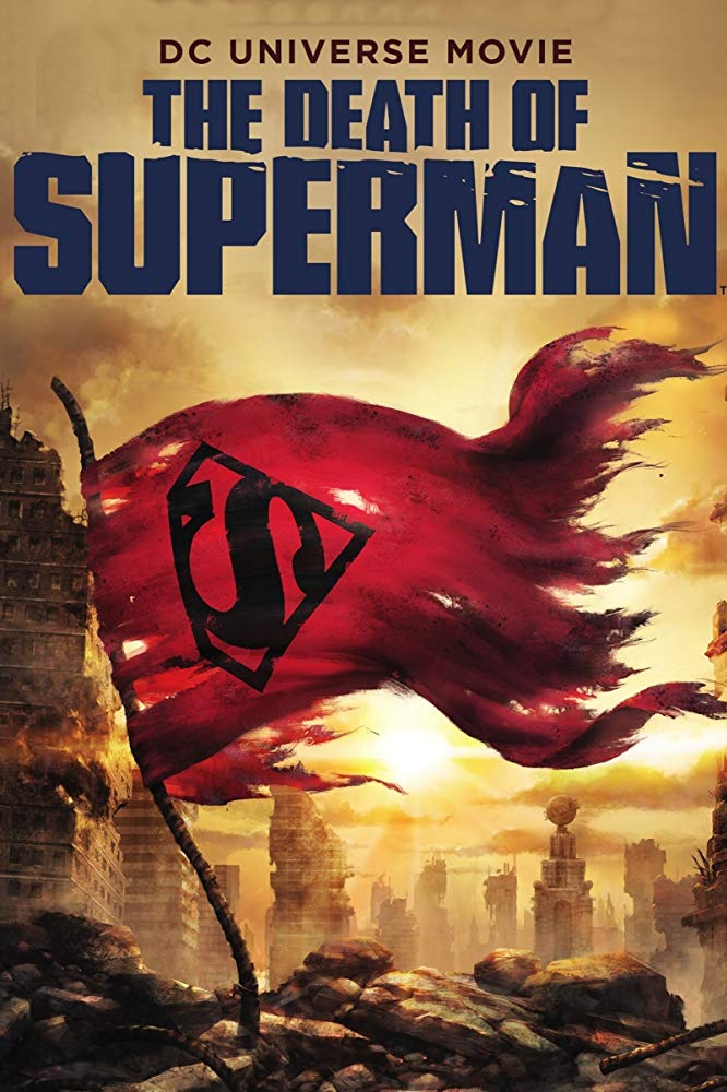 affiche du film The Death of Superman