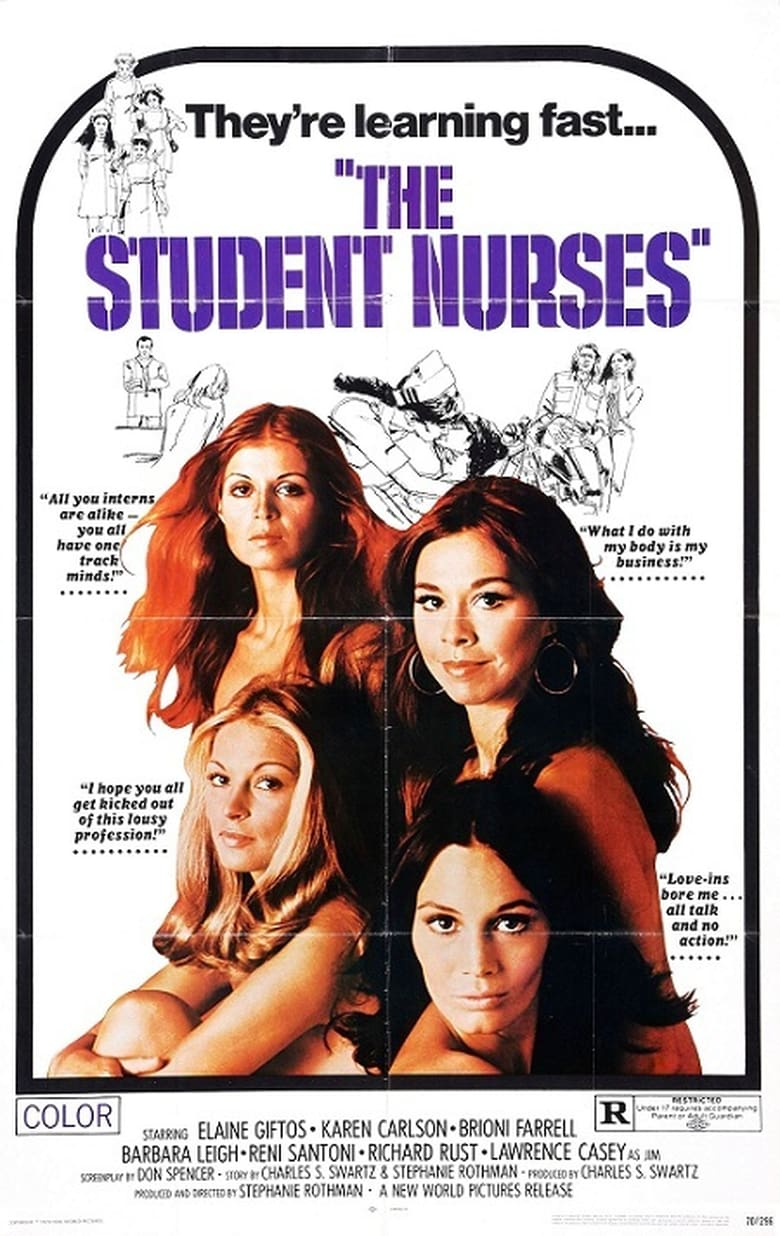 affiche du film The Student Nurses