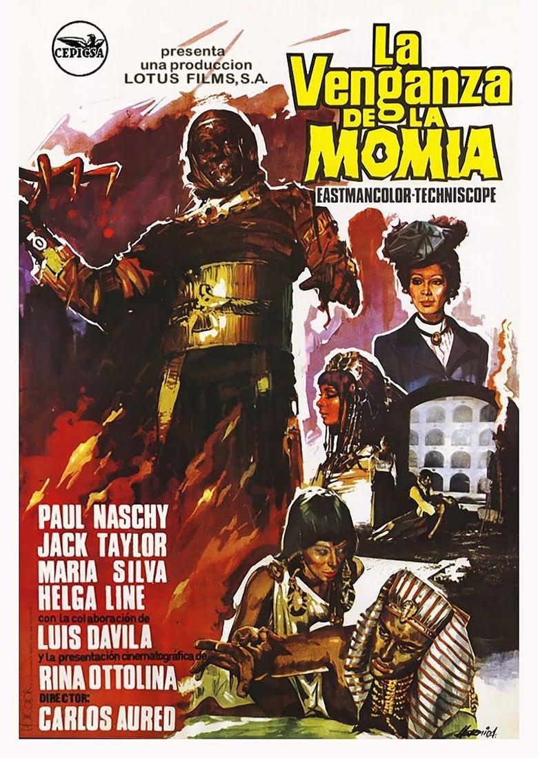 affiche du film The Mummy's Revenge