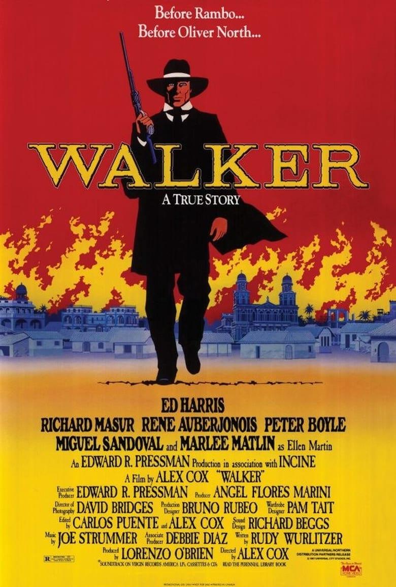 affiche du film Walker