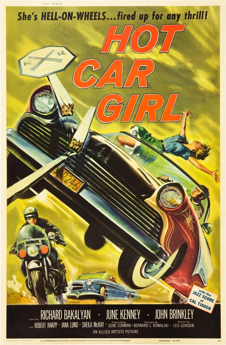 affiche du film Hot Car Girl