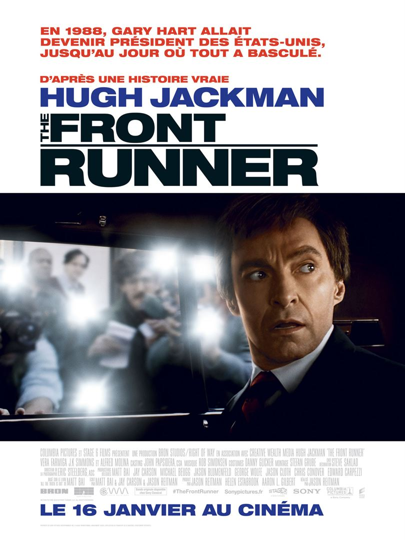affiche du film The Front Runner