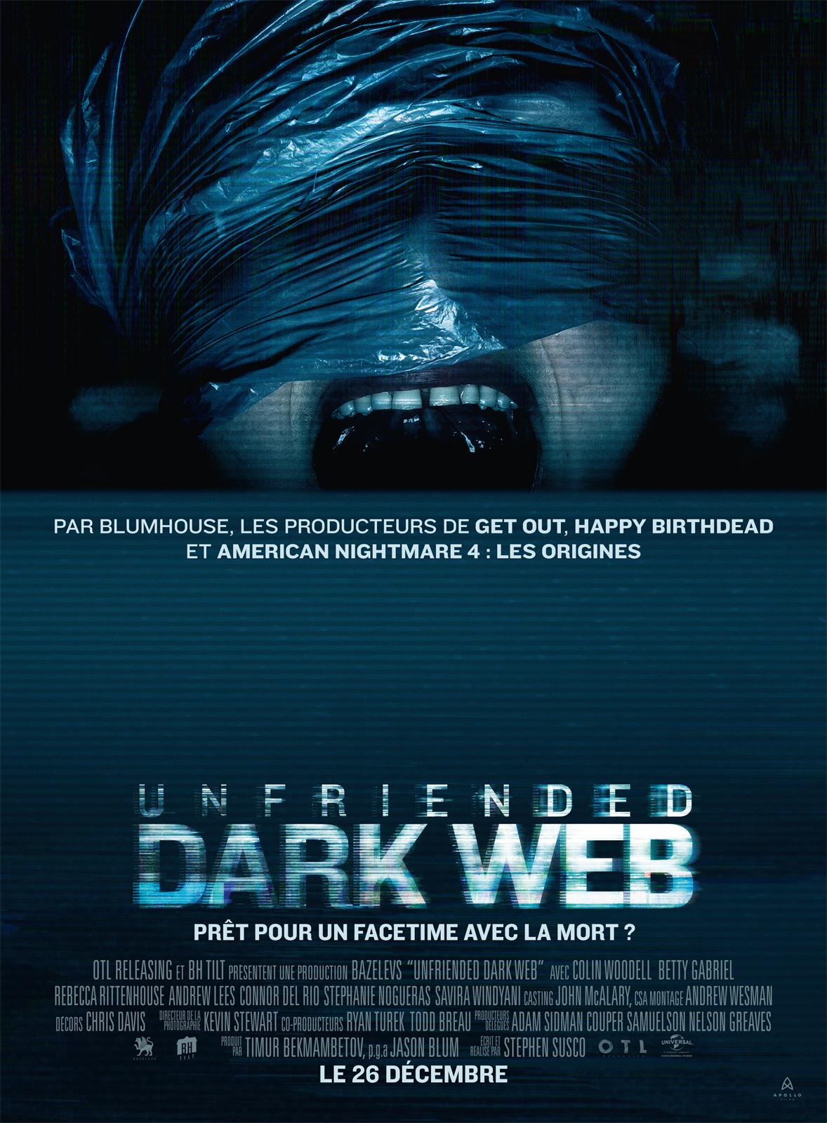 affiche du film Unfriended: Dark Web