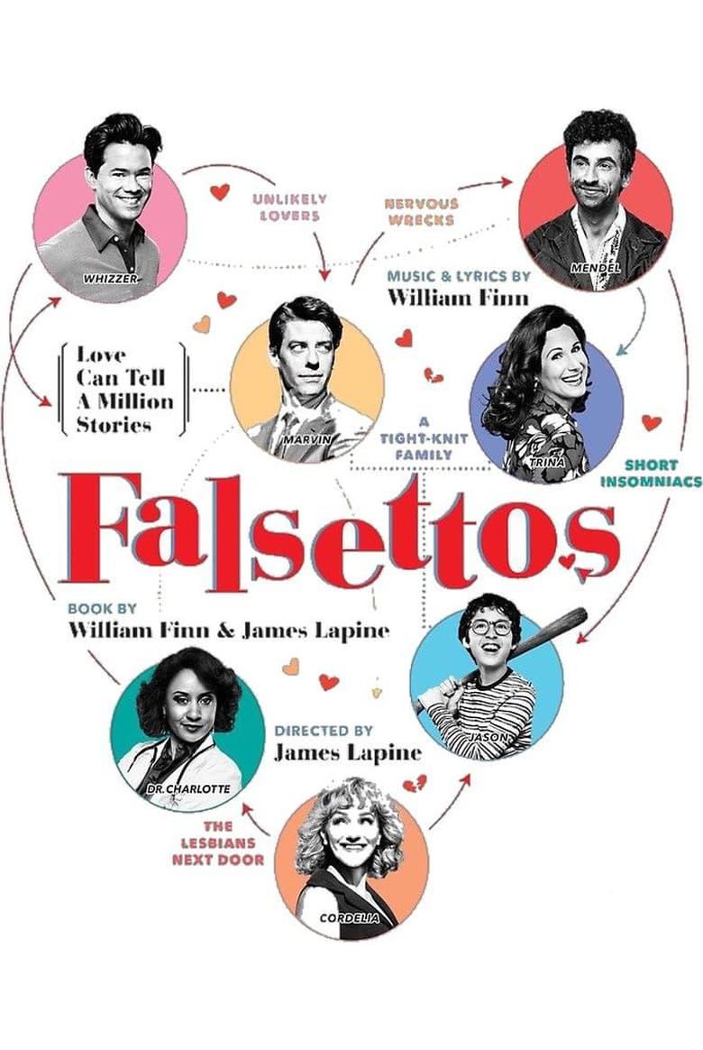 affiche du film Falsettos: Live from Lincoln Center