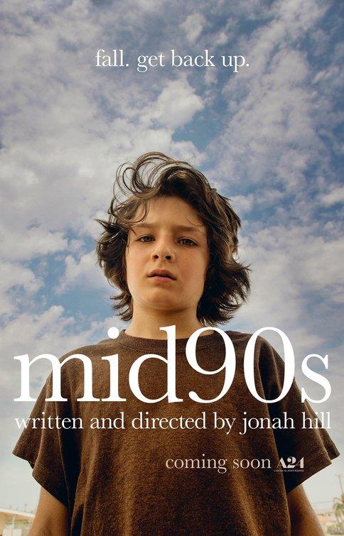 affiche du film Mid90s