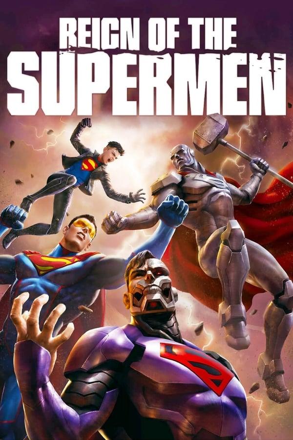 affiche du film Reign of the Supermen