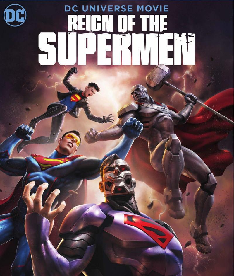 affiche du film Le Règne des Supermen