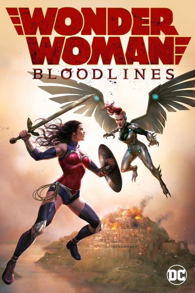 affiche du film Wonder Woman: Bloodlines