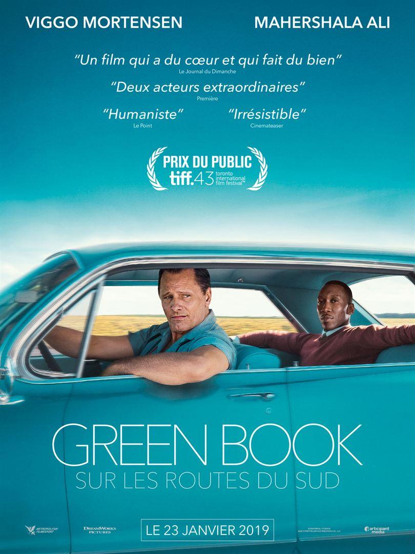 affiche du film Green Book : Sur les routes du sud