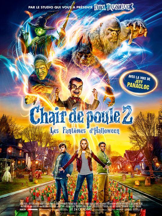 affiche du film Chair de poule 2 : Les Fantômes d'Halloween