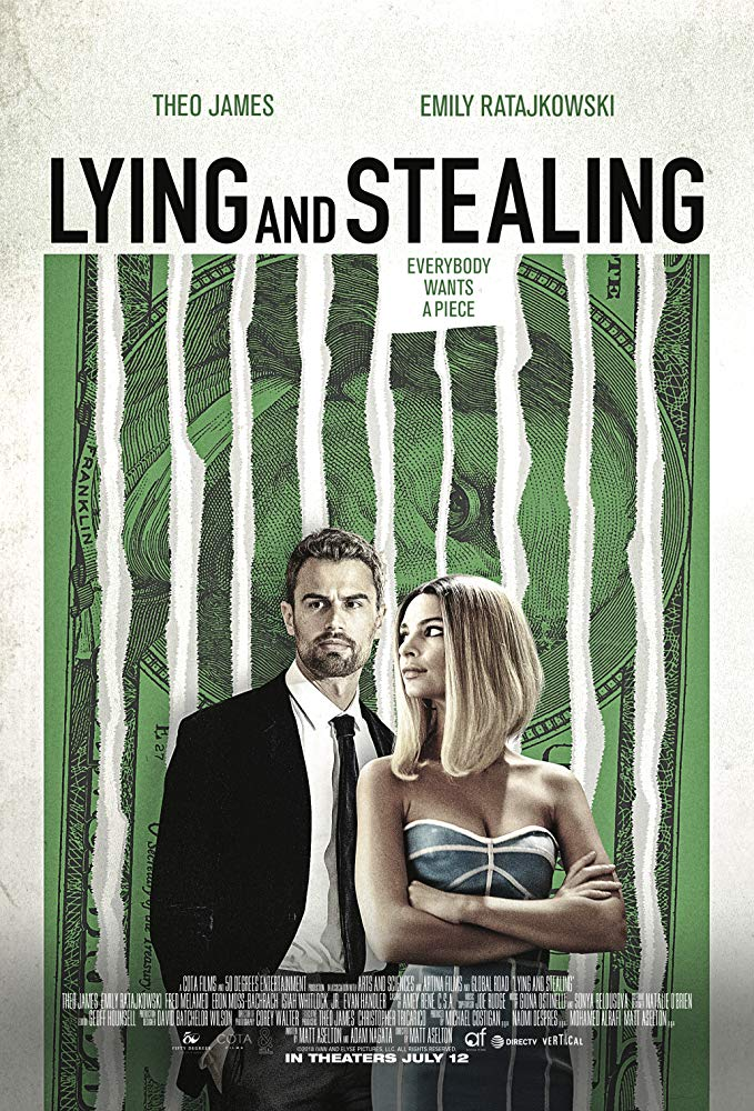 affiche du film Lying and Stealing