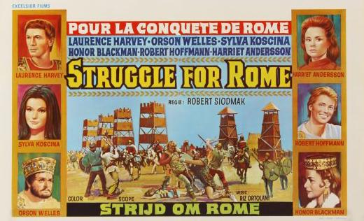 affiche du film Pour la conquête de Rome I