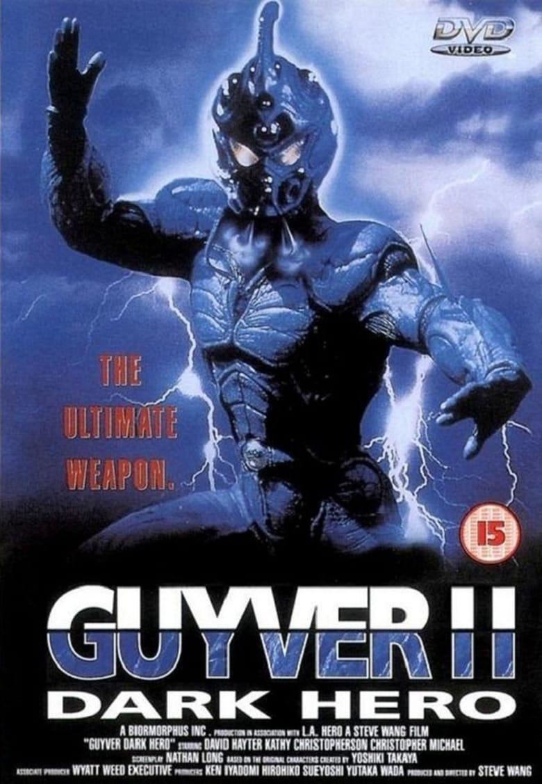 affiche du film Guyver, La sentinelle de l'ombre