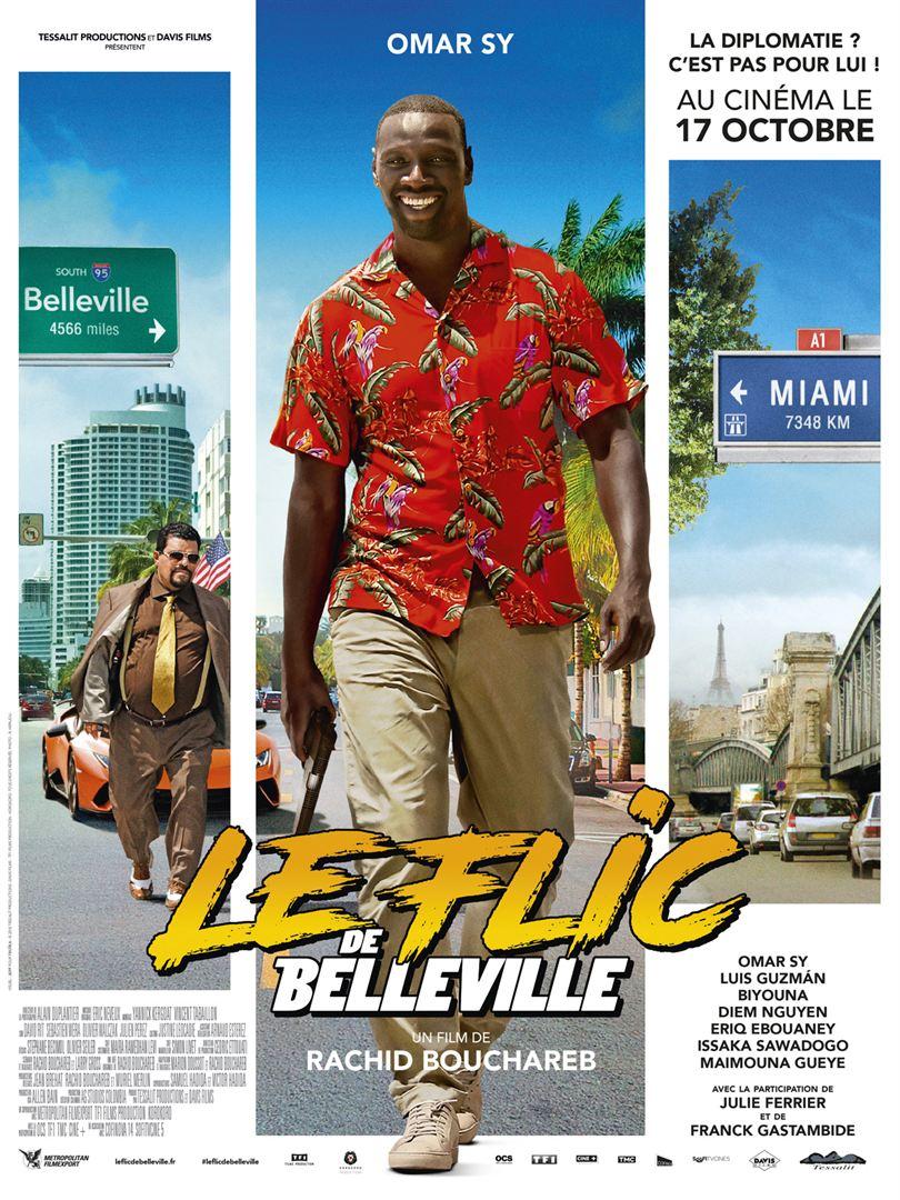 affiche du film Le Flic de Belleville