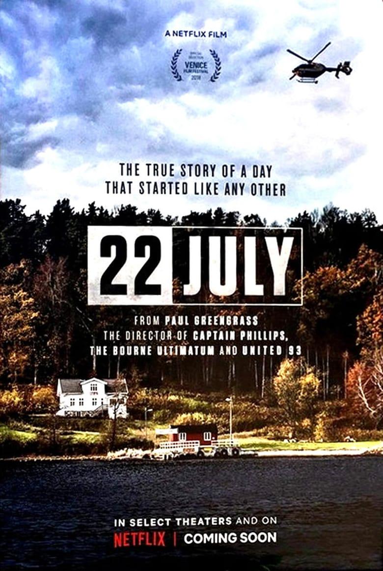 affiche du film Un 22 juillet