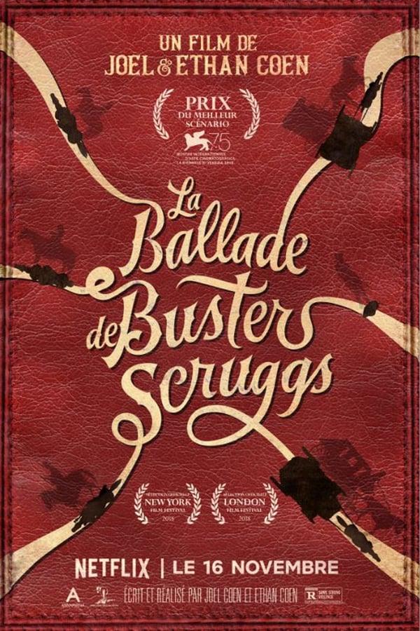 affiche du film La Ballade de Buster Scruggs