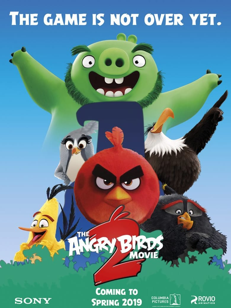 affiche du film Angry Birds : Copains comme cochons