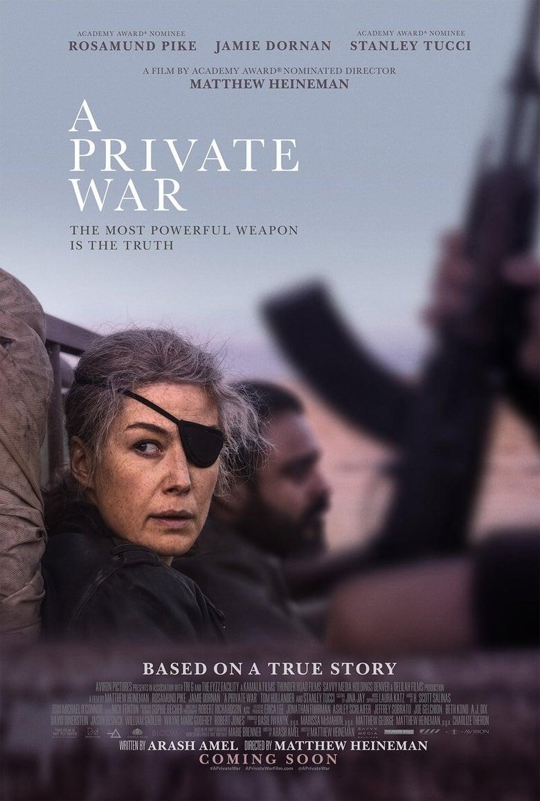 affiche du film A Private War