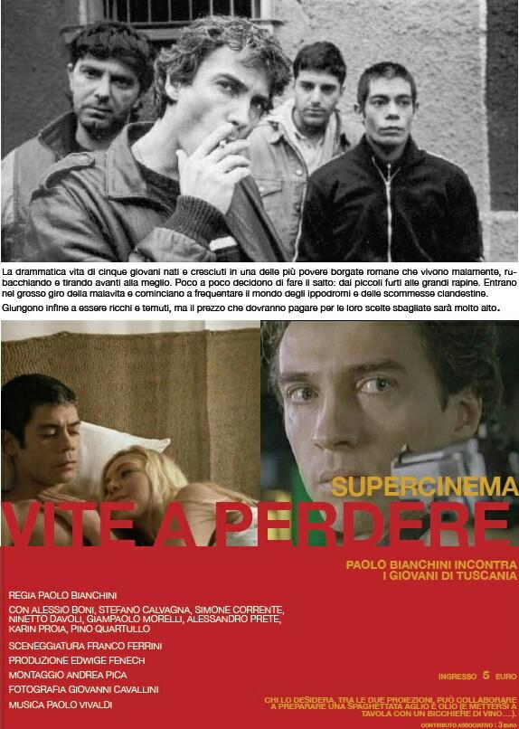 affiche du film Vite a perdere (TV)