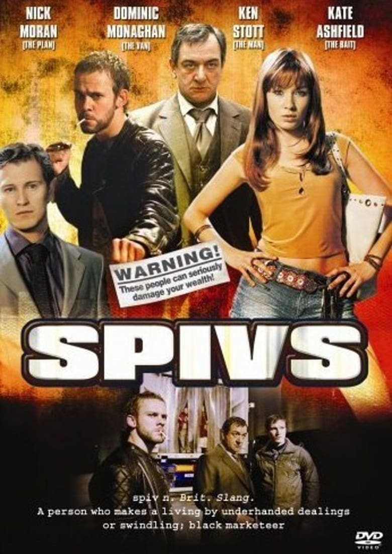 affiche du film Spivs