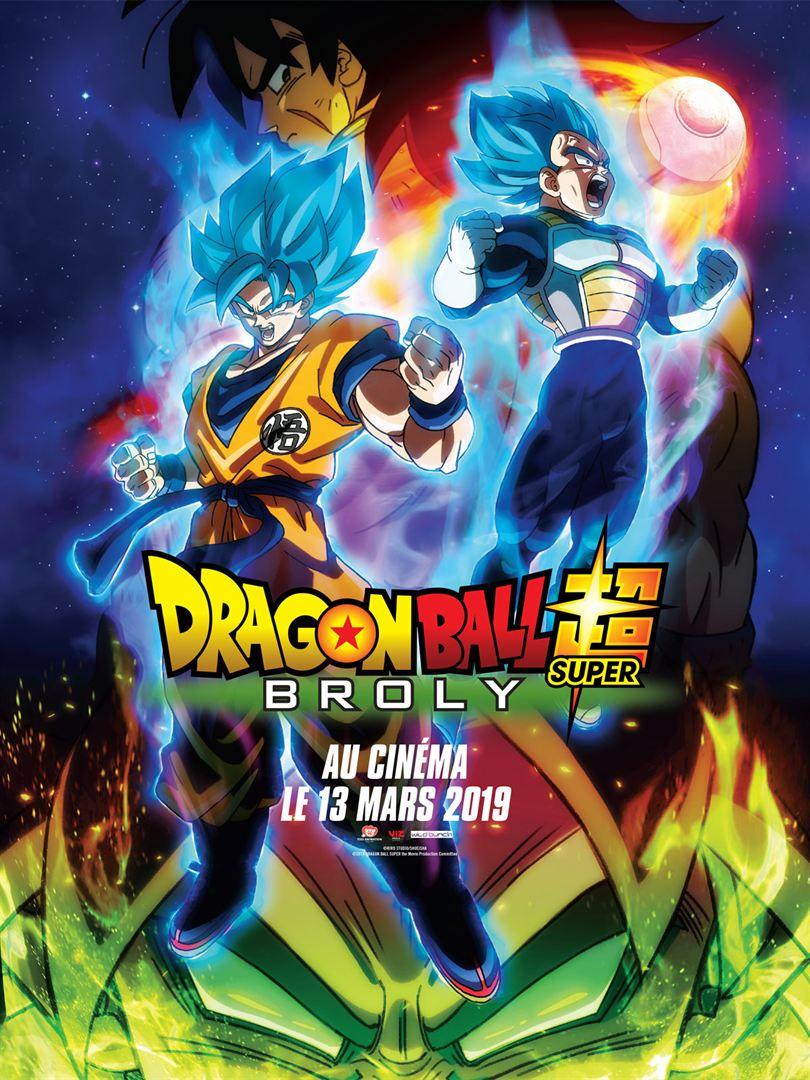 affiche du film Dragon Ball Super: Broly