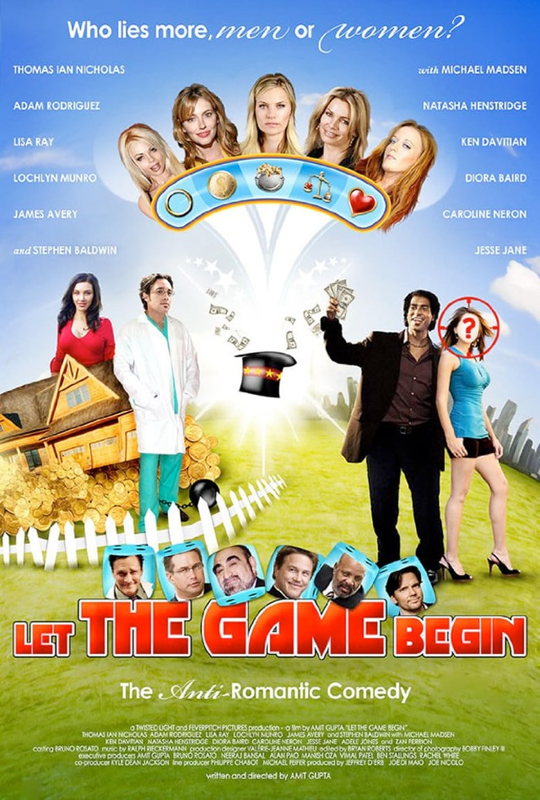 affiche du film Let the Game Begin