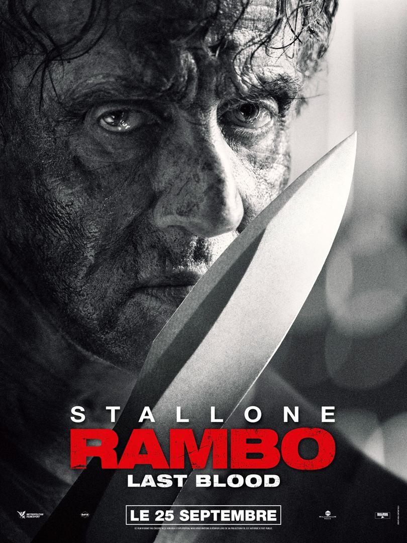 affiche du film Rambo: Last Blood