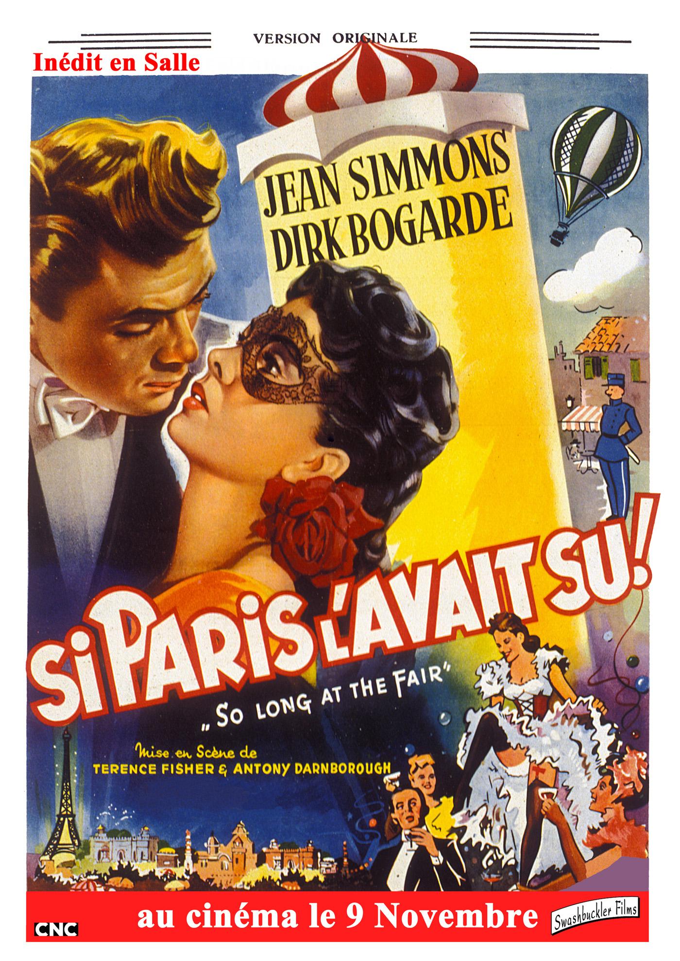 affiche du film Si Paris l'avait su
