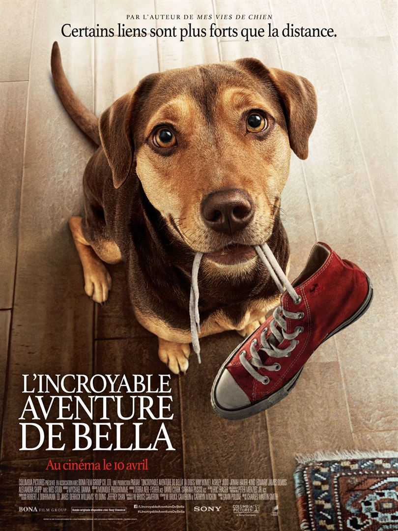 affiche du film L'Incroyable aventure de Bella