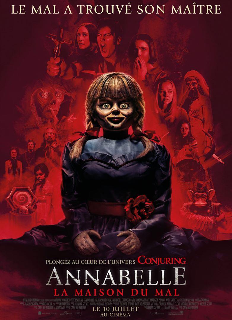 affiche du film Annabelle 3 : La Maison du Mal