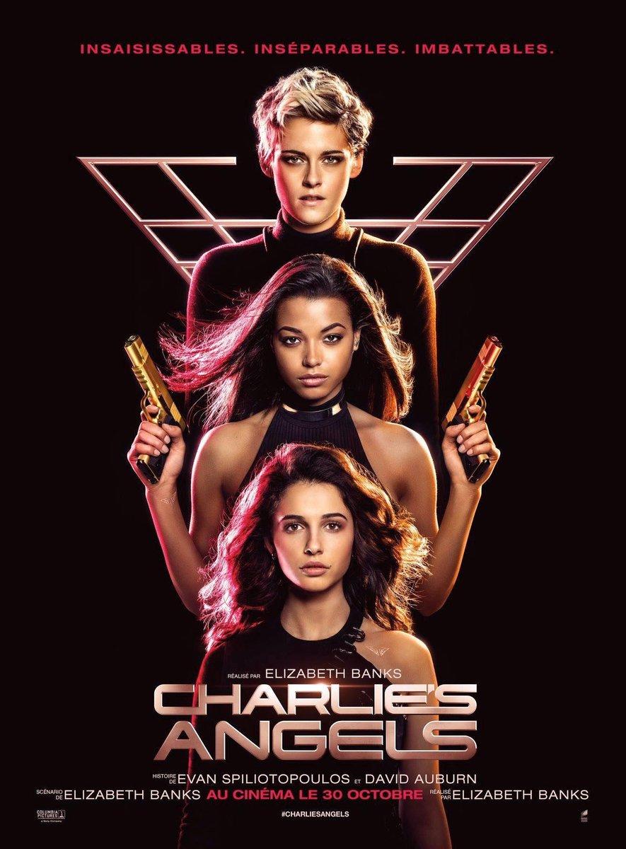 affiche du film Charlie's Angels (2019)