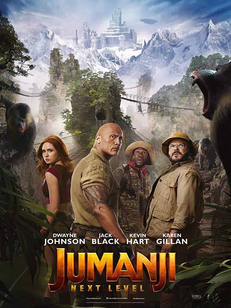 affiche du film Jumanji: Next Level