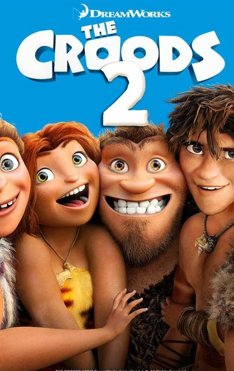 affiche du film The Croods 2