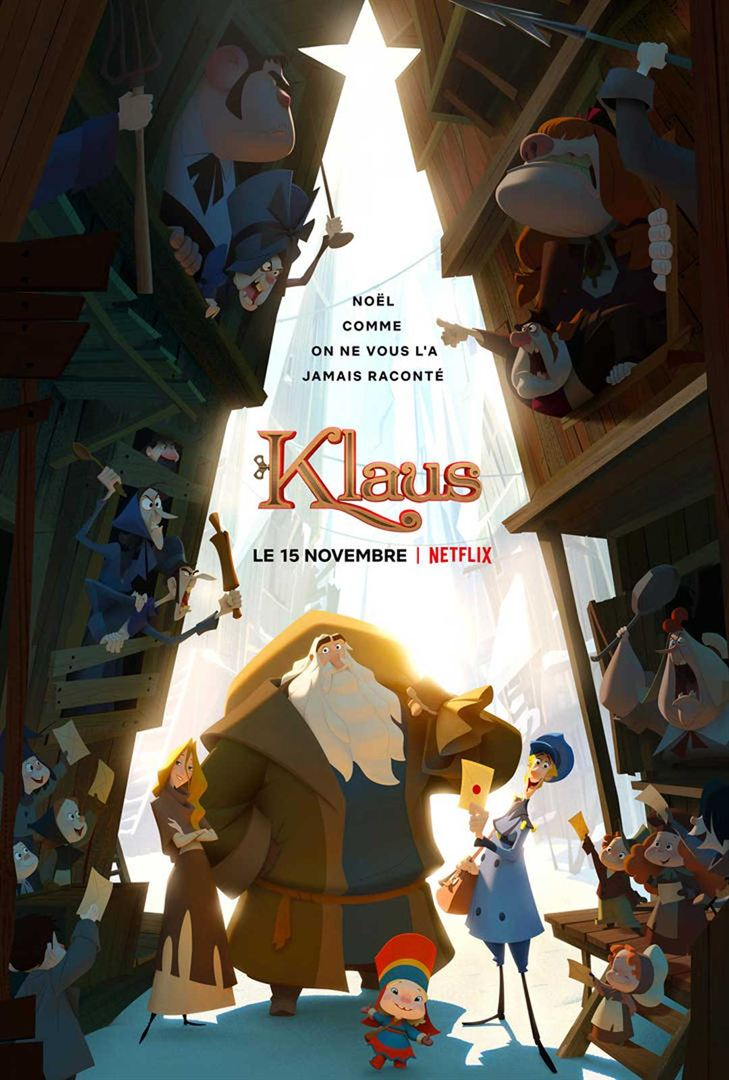 affiche du film La Légende de Klaus