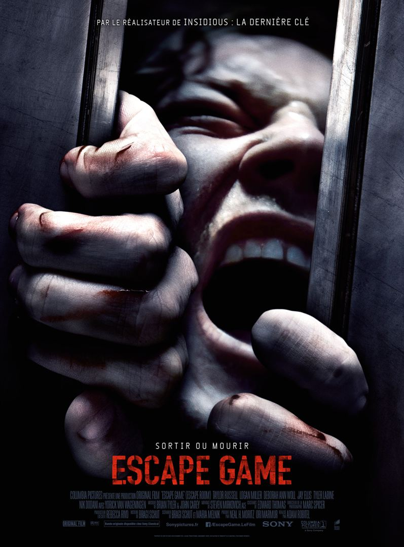 affiche du film Escape Game