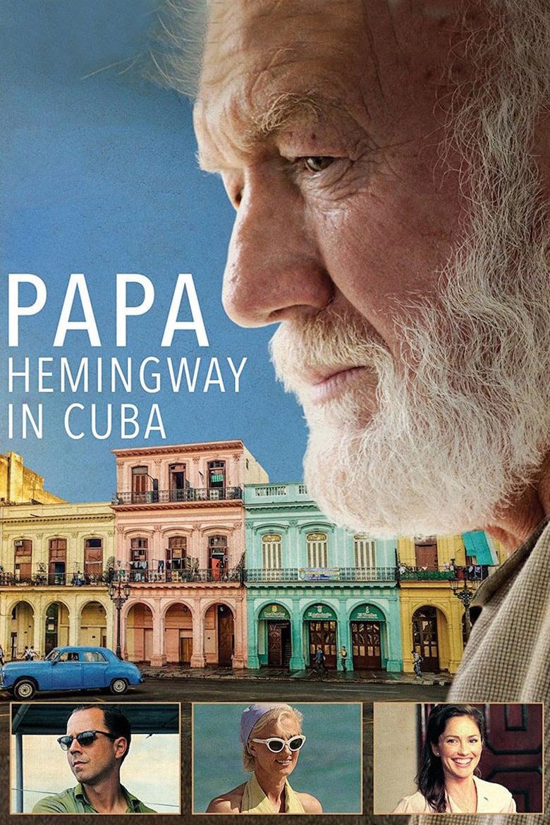 affiche du film Papa Hemingway in Cuba