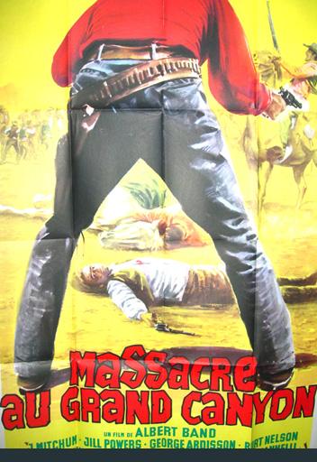 affiche du film Massacre au Grande Canyon