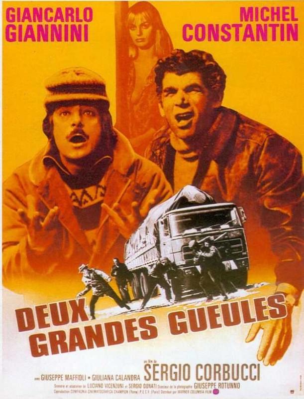 affiche du film Deux grandes gueules