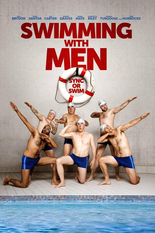 affiche du film Regarde les hommes nager