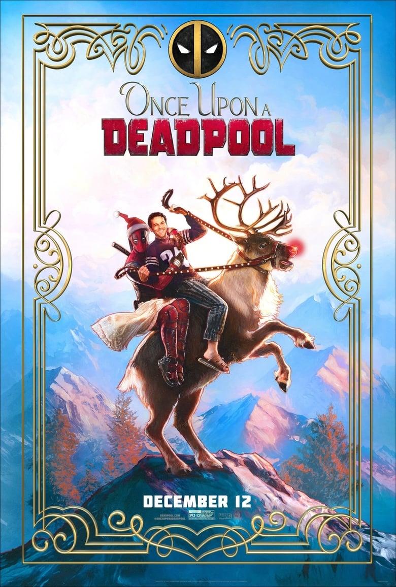 affiche du film Once Upon a Deadpool