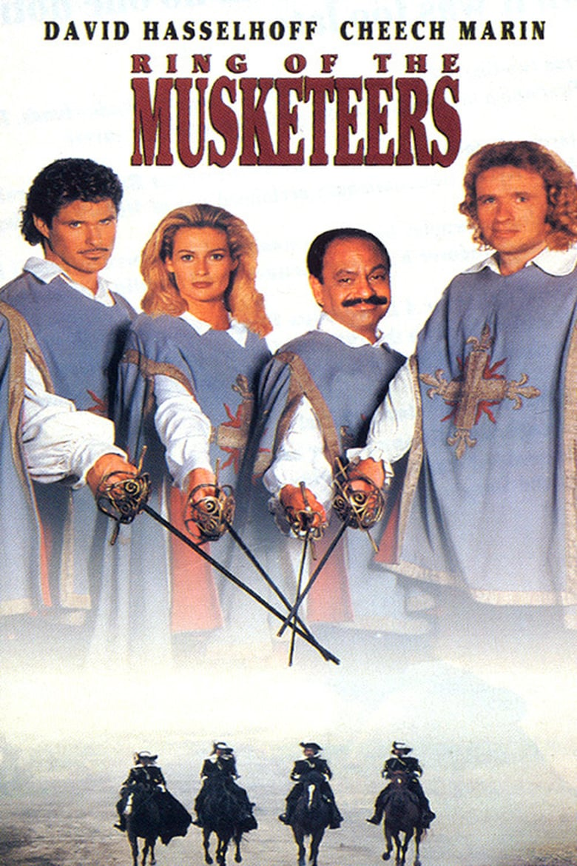 affiche du film Les nouveaux mousquetaires (TV)