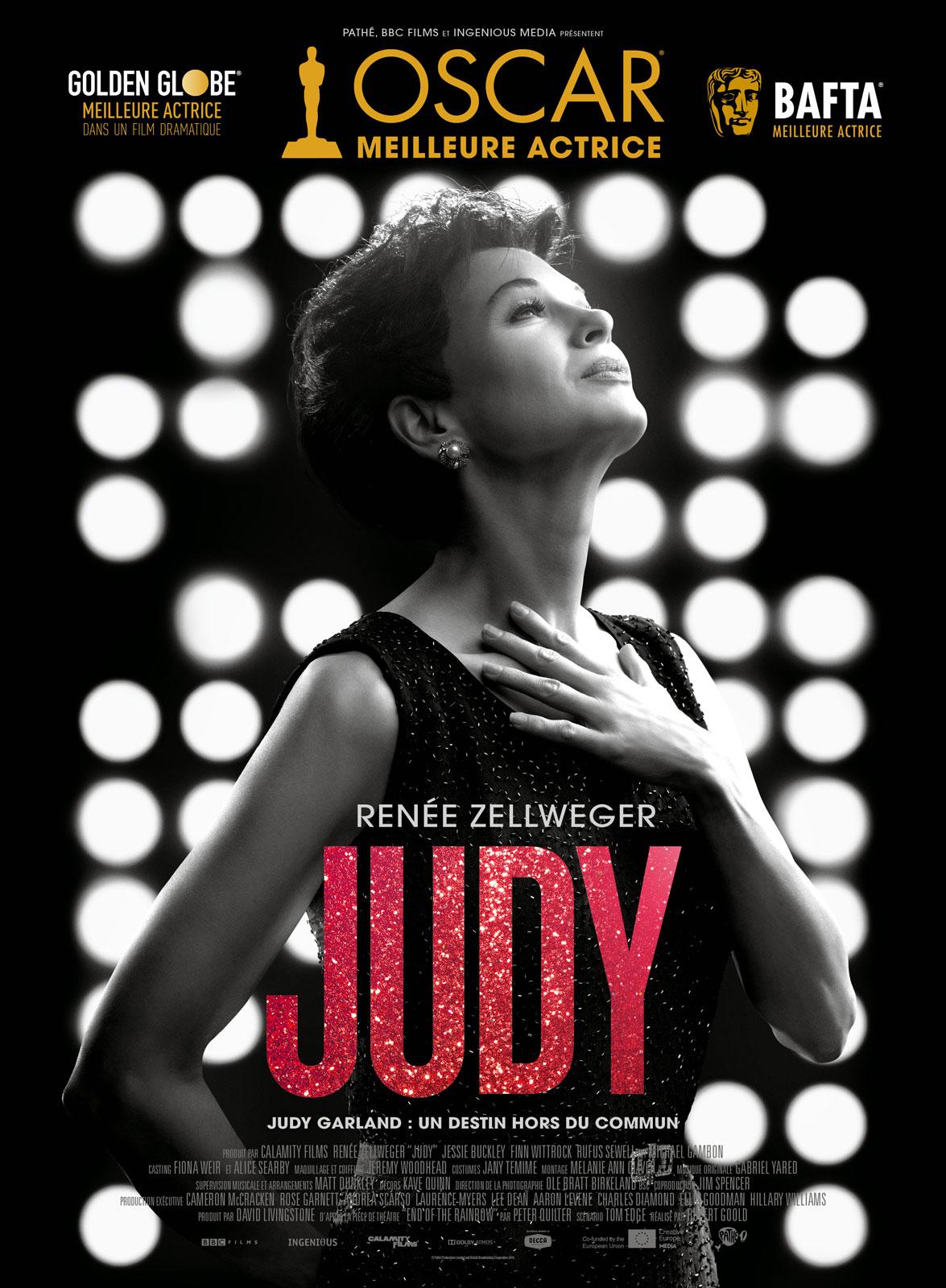 affiche du film Judy