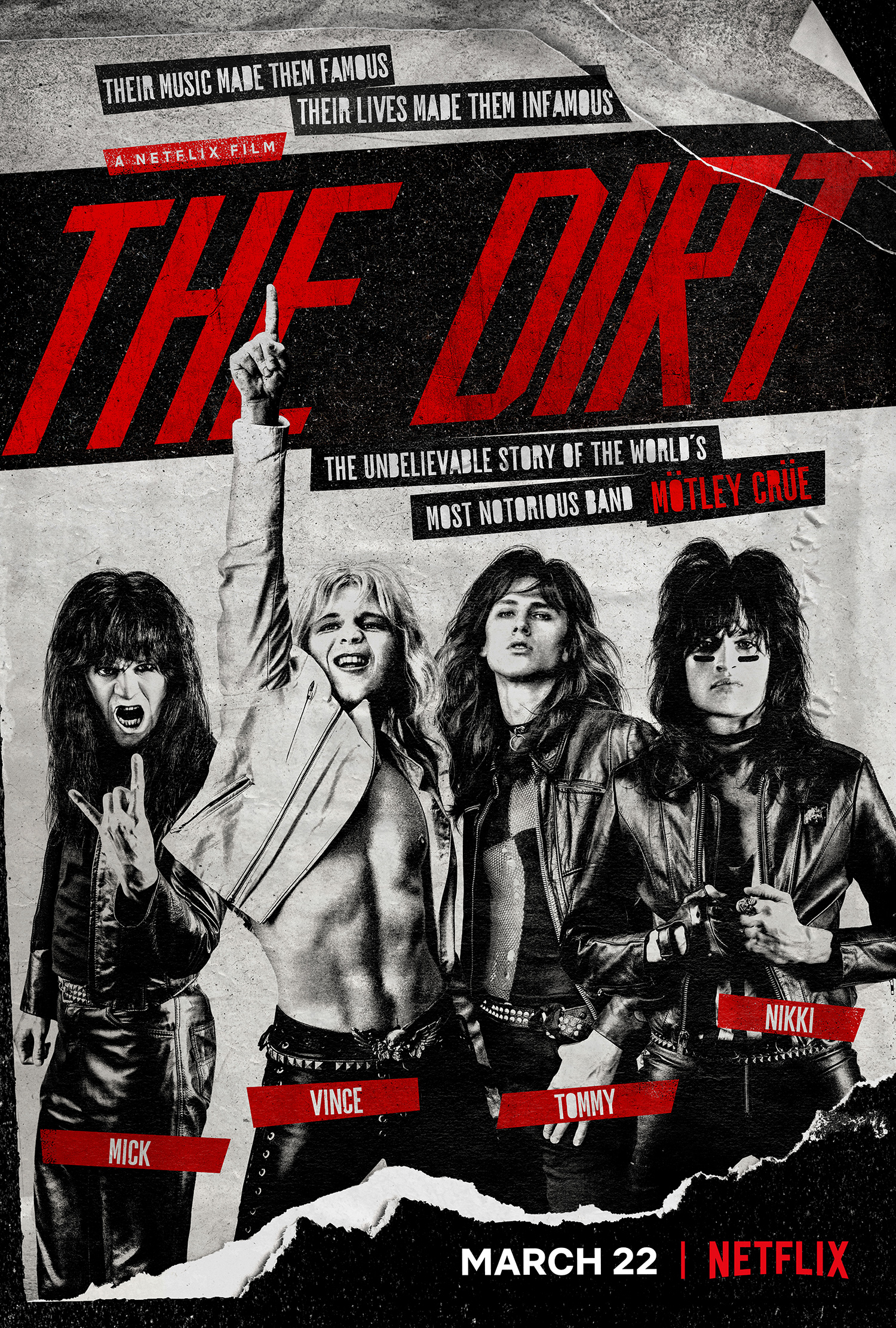 affiche du film The Dirt